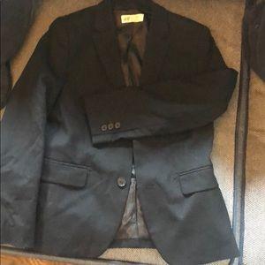 H&M black sport coat
